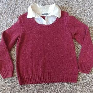 C&B Sweater with collar